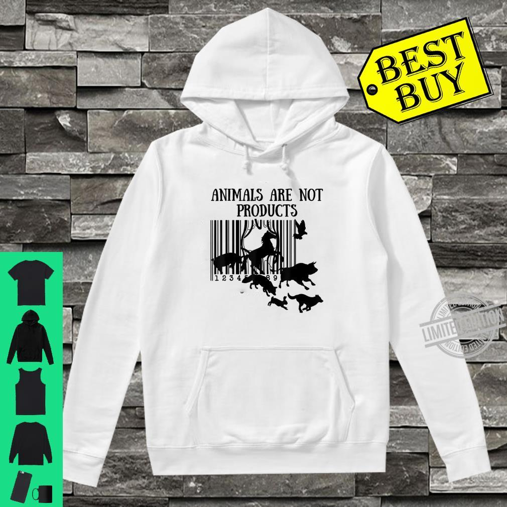Animals Are Not Products Love Animal Earth Day Shirt hoodie
