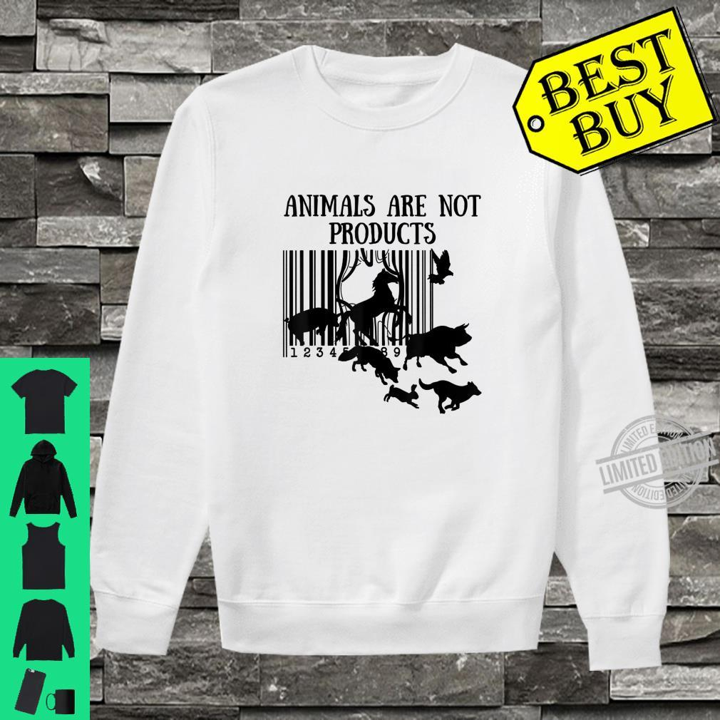 Animals Are Not Products Love Animal Earth Day Shirt sweater