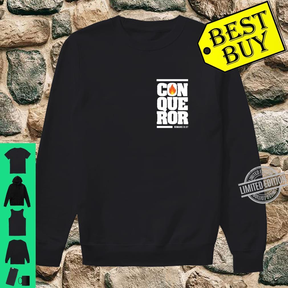 Christian gift bible verse inspirational Conqueror Shirt sweater