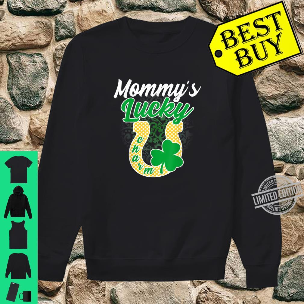 Funny Mommy's Lucky Charm Shamrock St Patricks Day Shirt sweater