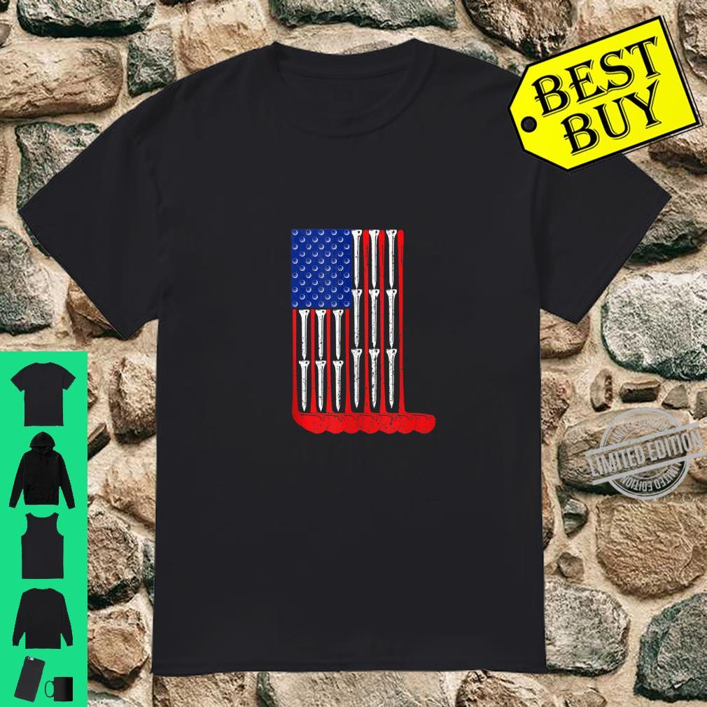 Golf Flag Sports Shirt