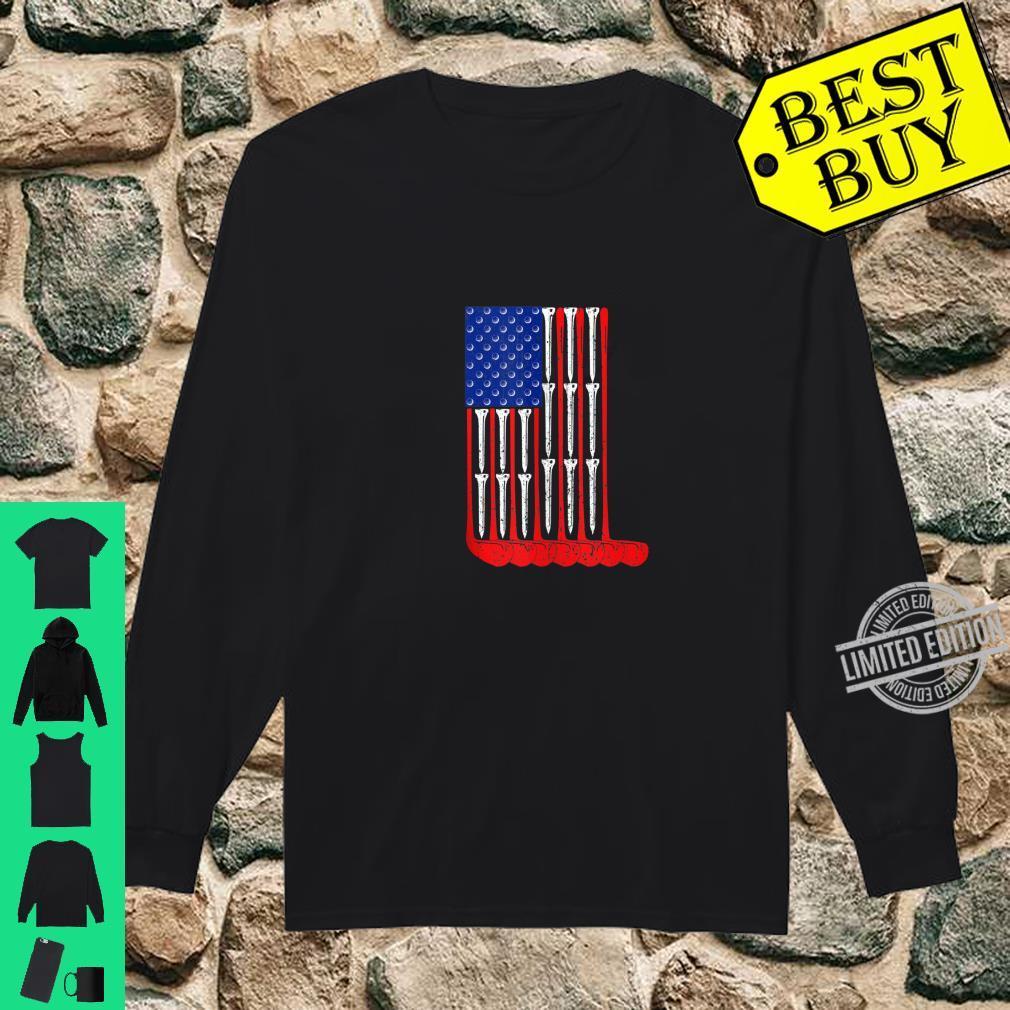 Golf Flag Sports Shirt long sleeved