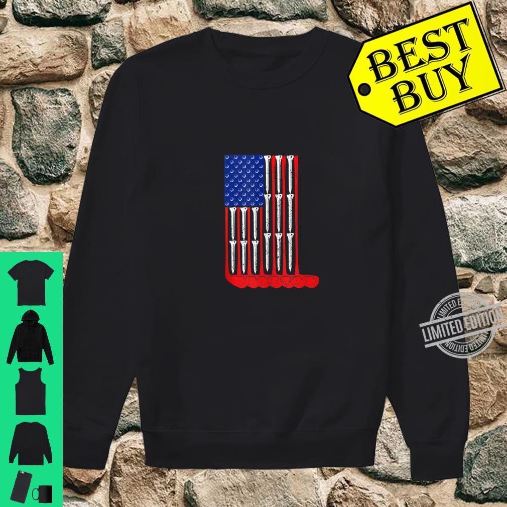 Golf Flag Sports Shirt sweater