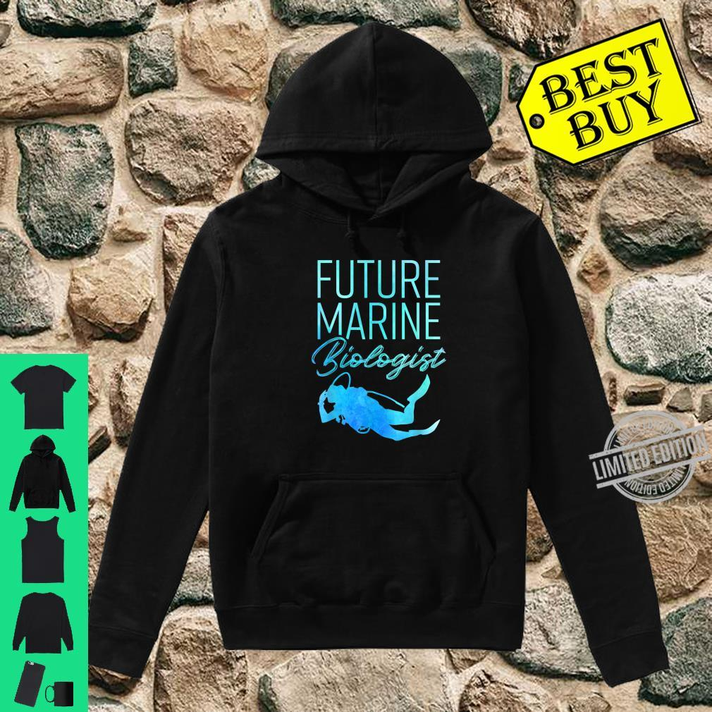 Ocean Student Biology Future Marine Biologist Shirt hoodie