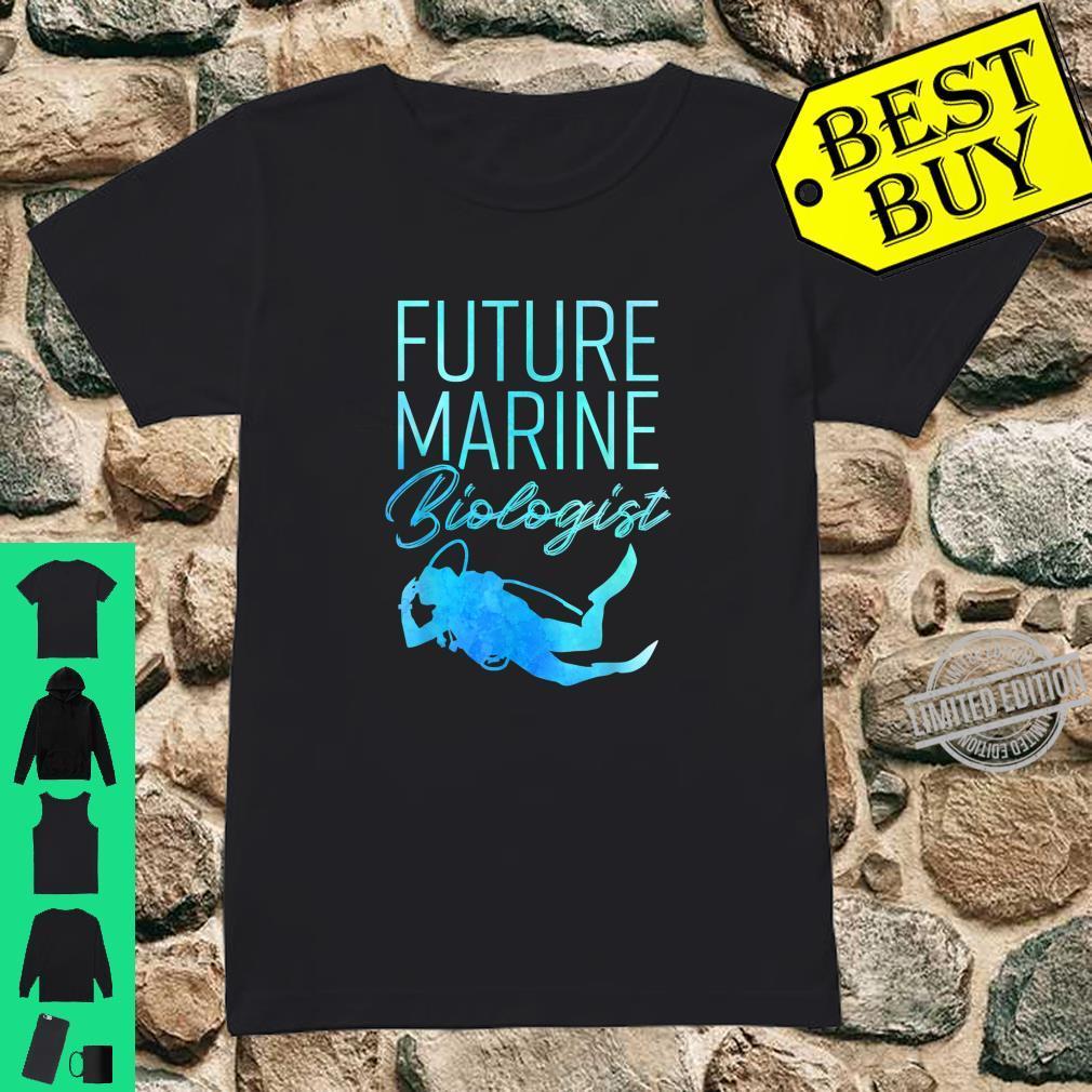 Ocean Student Biology Future Marine Biologist Shirt ladies tee