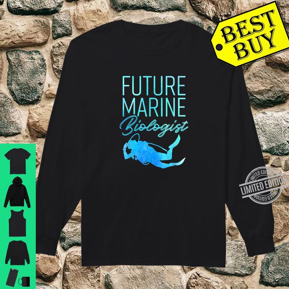 Ocean Student Biology Future Marine Biologist Shirt long sleeved