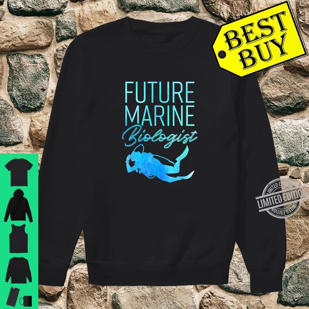 Ocean Student Biology Future Marine Biologist Shirt sweater