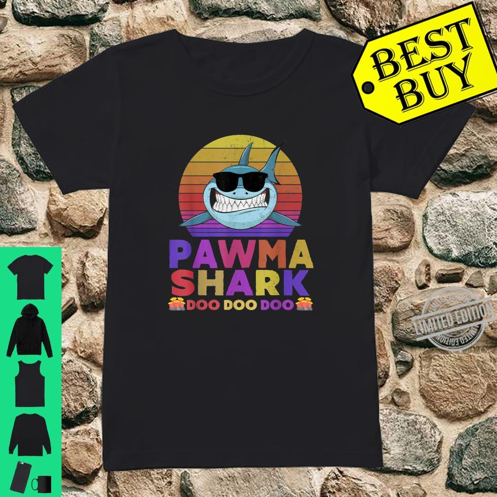 Pawma Shark Doo Doo Doo Shirt ladies tee
