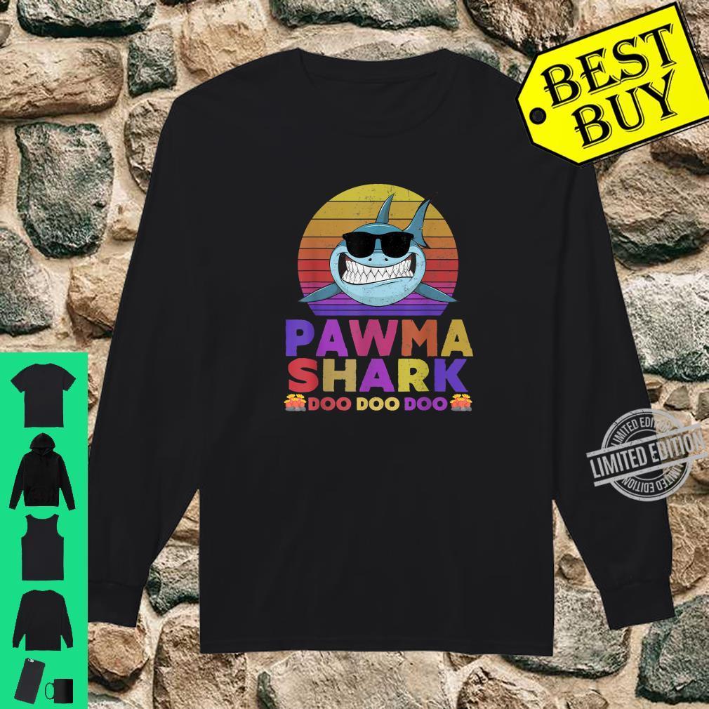 Pawma Shark Doo Doo Doo Shirt long sleeved