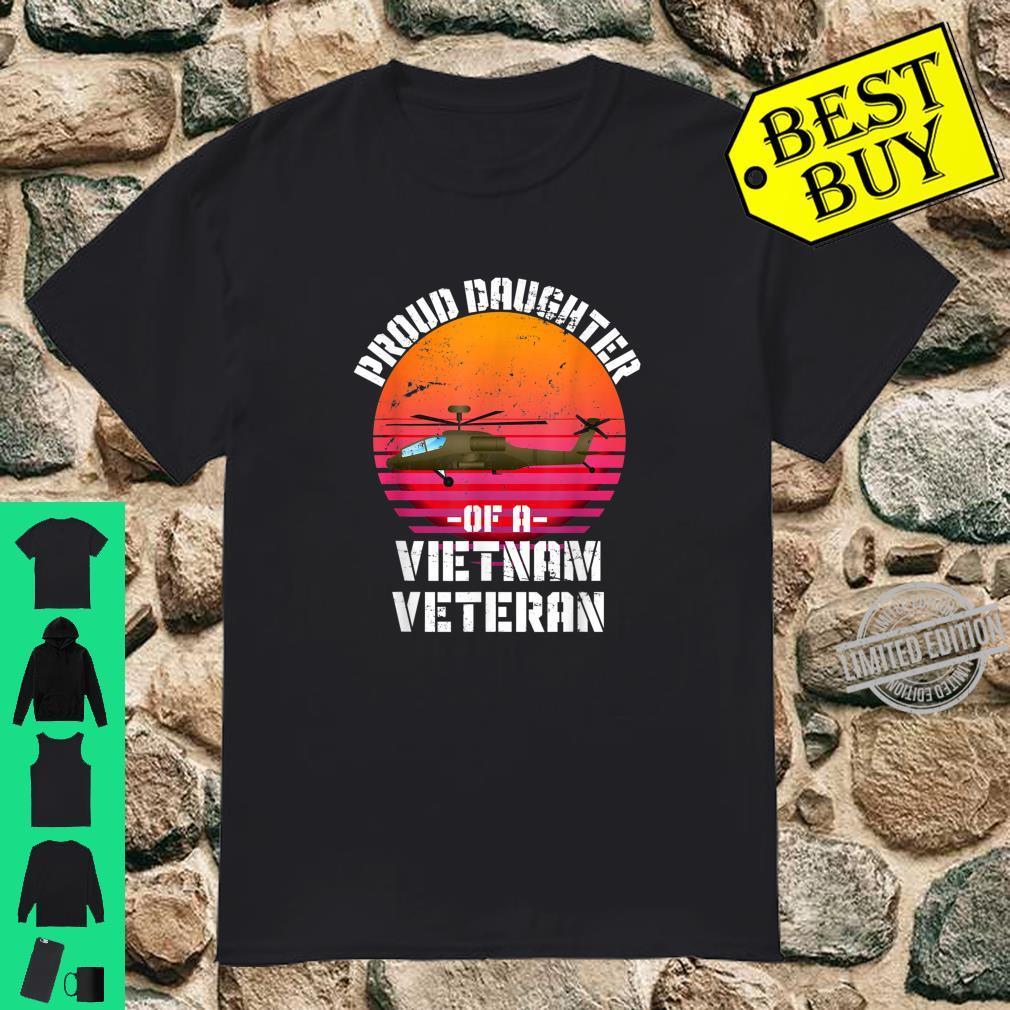 Proud Daughter Of A Vietnam Veteran Shirt