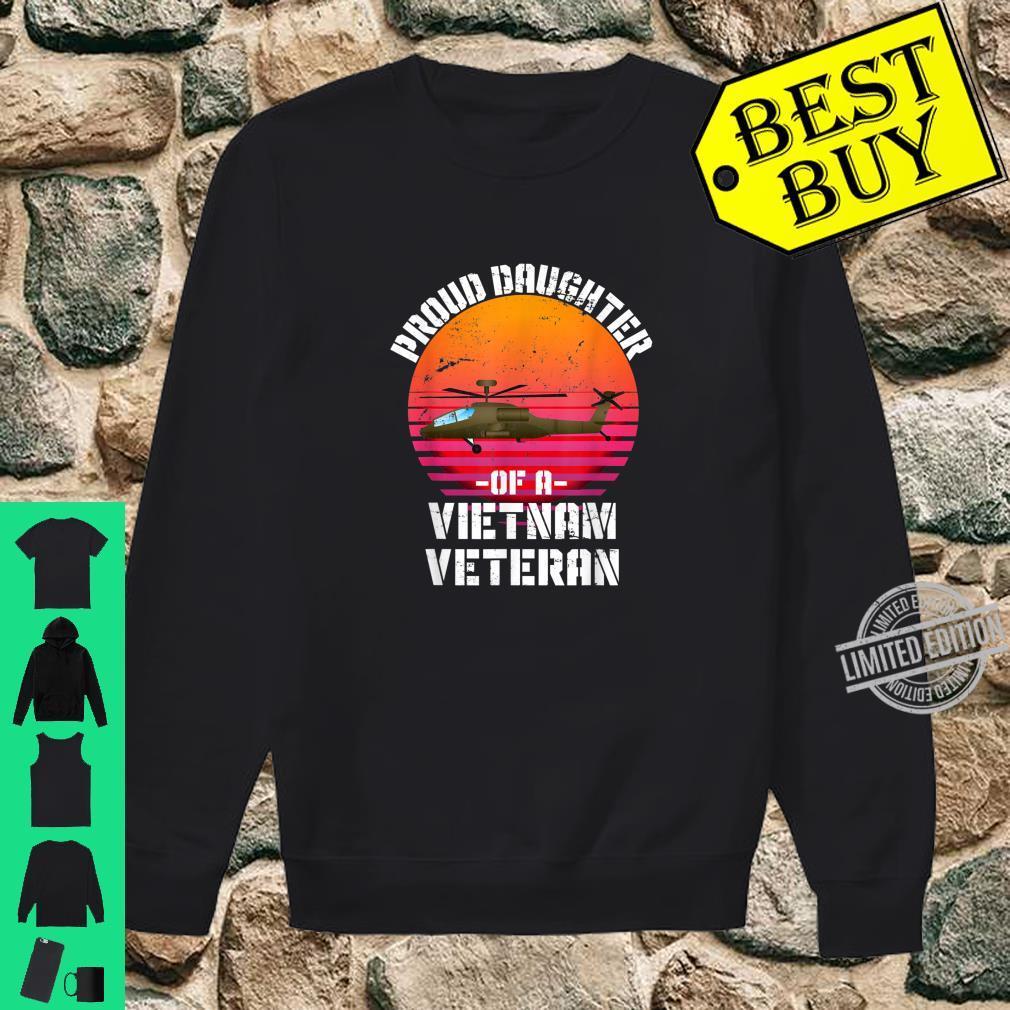 Proud Daughter Of A Vietnam Veteran Shirt sweater