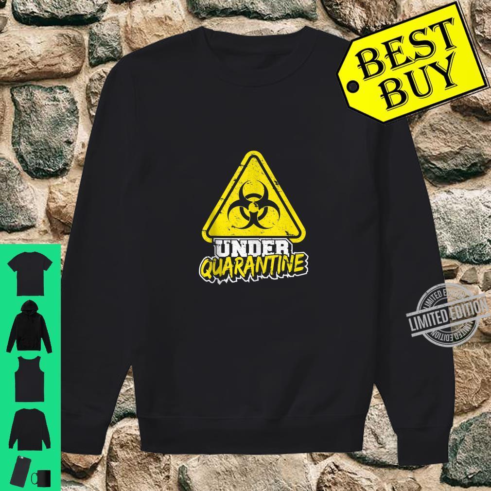 Quarantine Isolation Virus Germaphobe Flu Shirt sweater