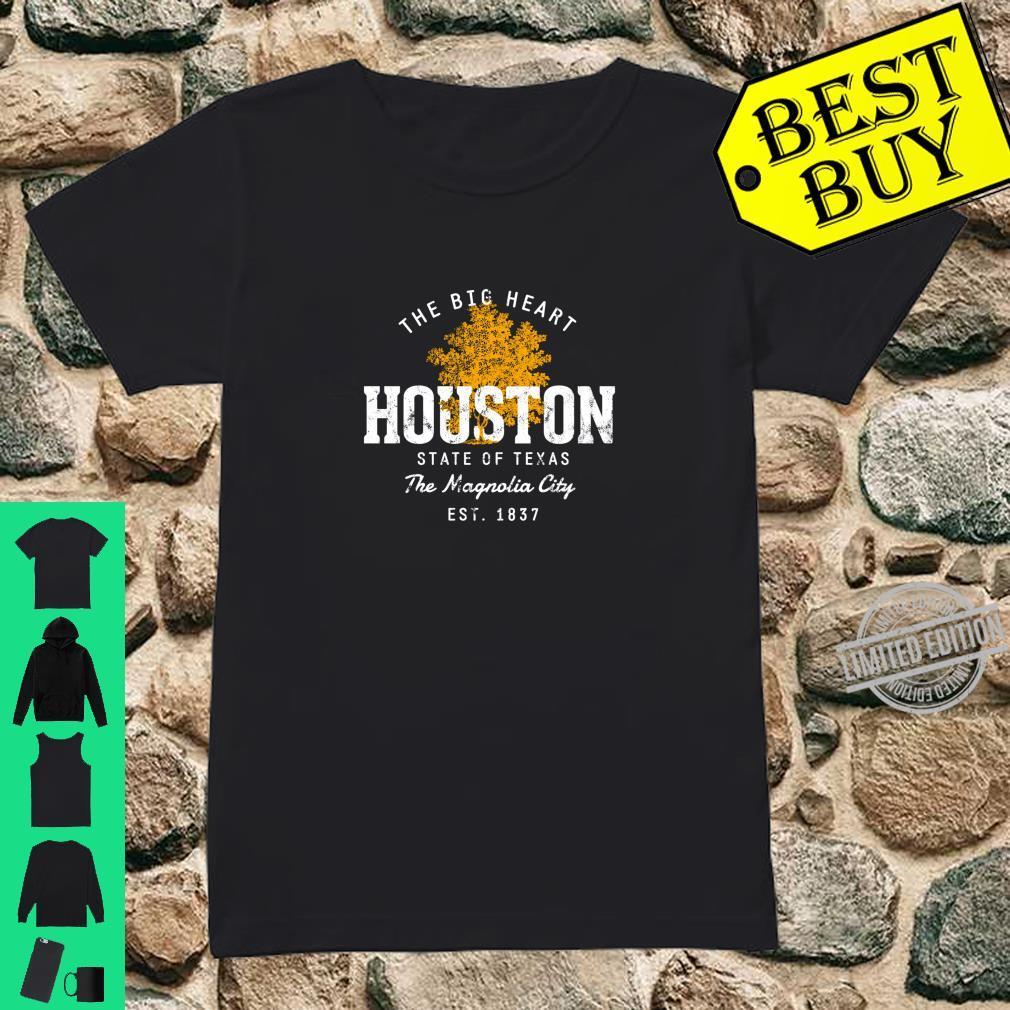 Retro Style Vintage Houston Shirt ladies tee