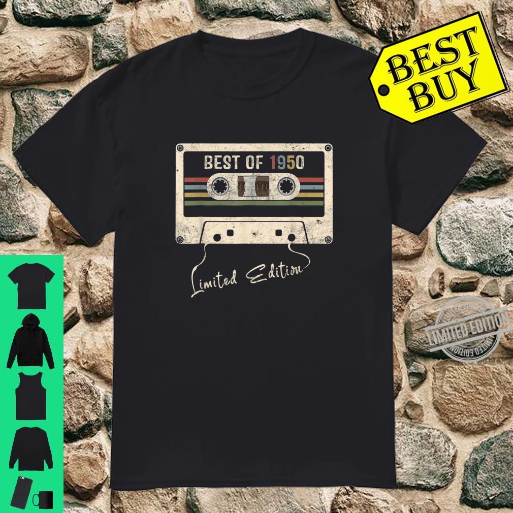 Retro Vintage Mixtape Birthday Best Of 1950 Shirt