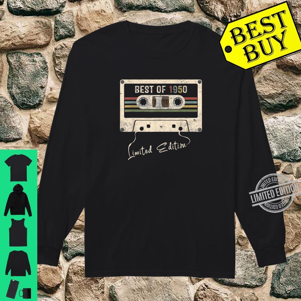 Retro Vintage Mixtape Birthday Best Of 1950 Shirt long sleeved