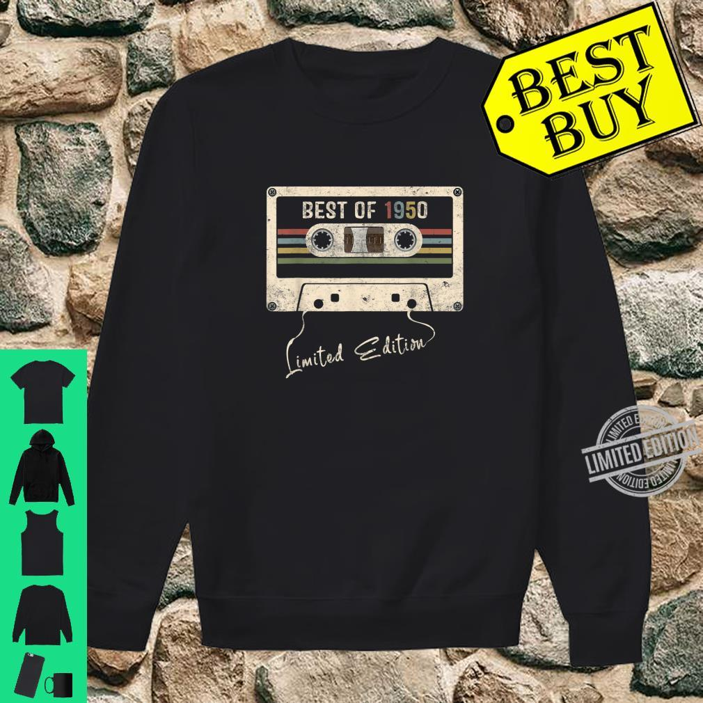 Retro Vintage Mixtape Birthday Best Of 1950 Shirt sweater