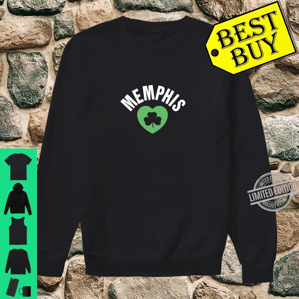 St Patricks Memphis TN Green Heart Irish Saint Pattys Lucky Shirt sweater