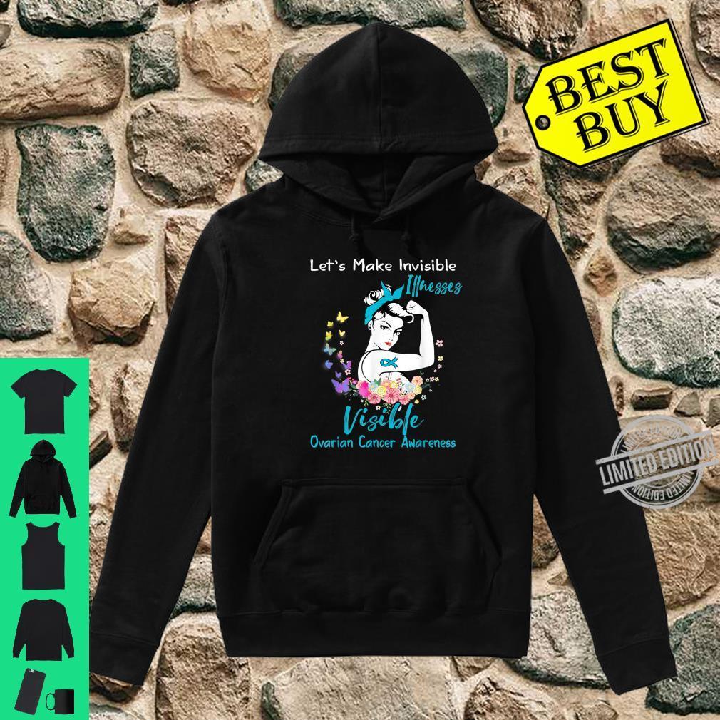 Support Ovarian Cancer Awareness Shirt hoodie