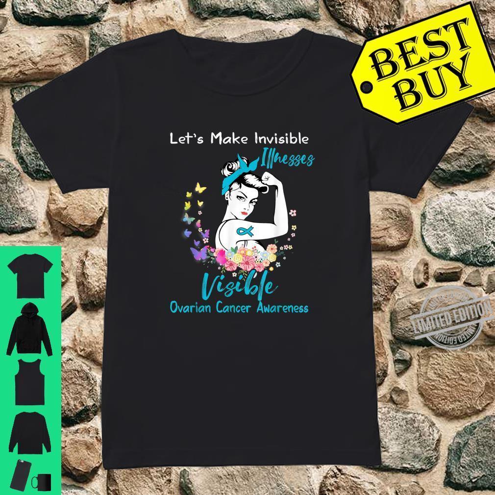 Support Ovarian Cancer Awareness Shirt ladies tee