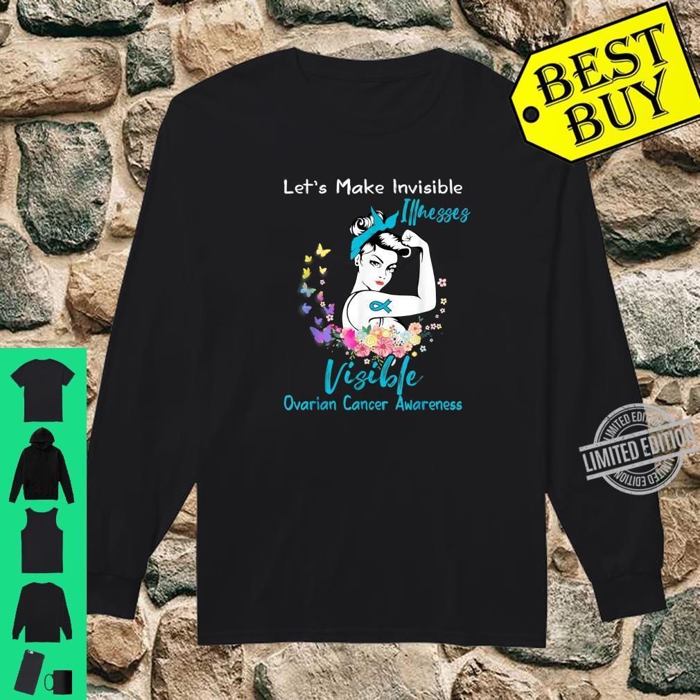 Support Ovarian Cancer Awareness Shirt long sleeved