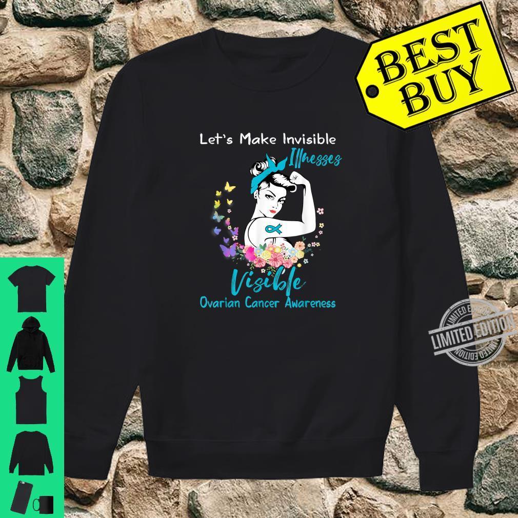 Support Ovarian Cancer Awareness Shirt sweater