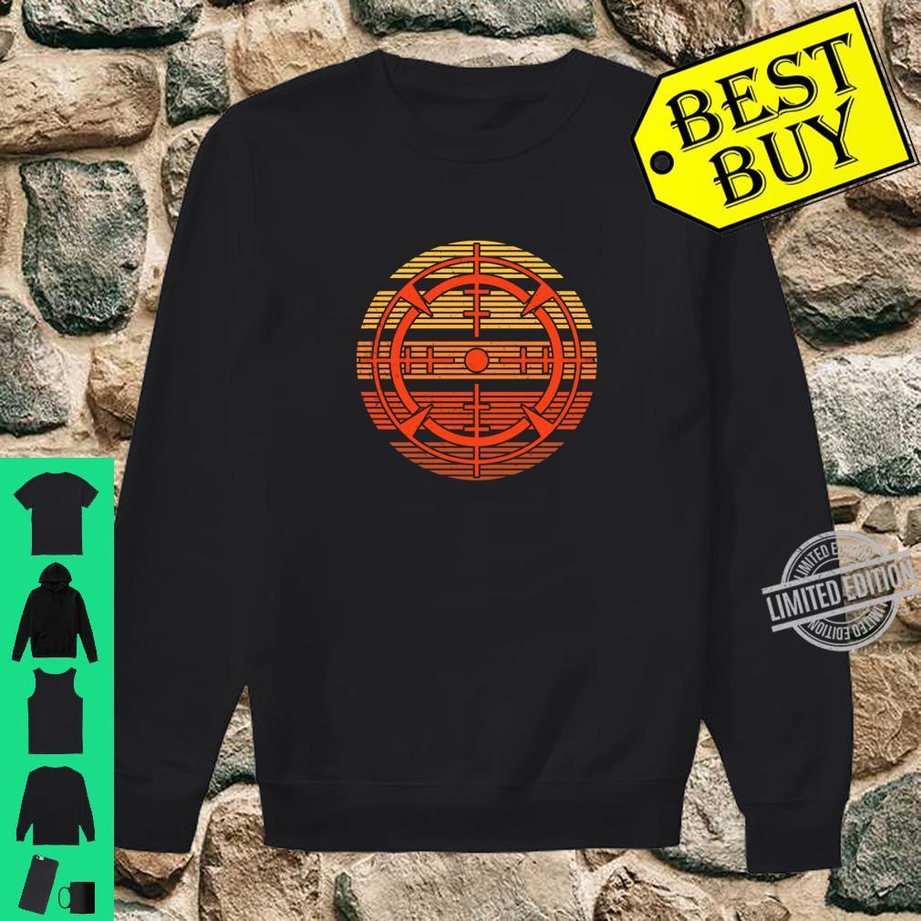 Target Shooting Sports Vintage Target Shooting Shirt sweater