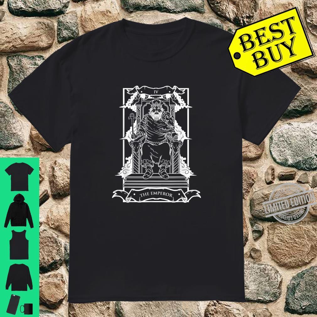 Tarot Card The Emperor IV Occult Vintage Shirt