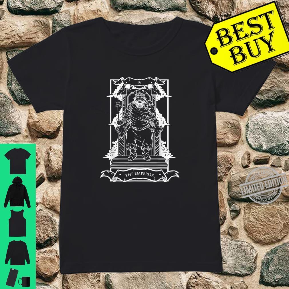Tarot Card The Emperor IV Occult Vintage Shirt ladies tee