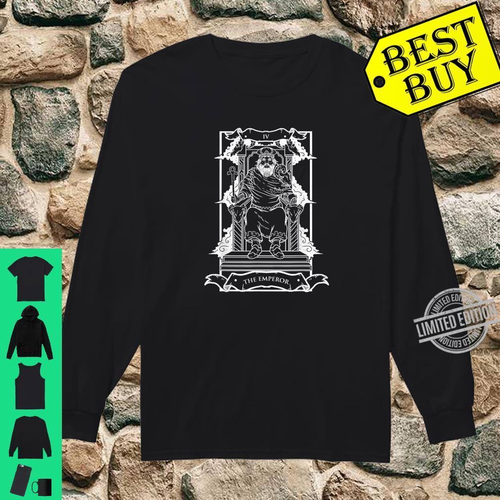 Tarot Card The Emperor IV Occult Vintage Shirt long sleeved