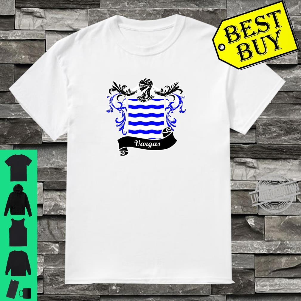 Vargas Coat of Arms surname last name family crest Shirt