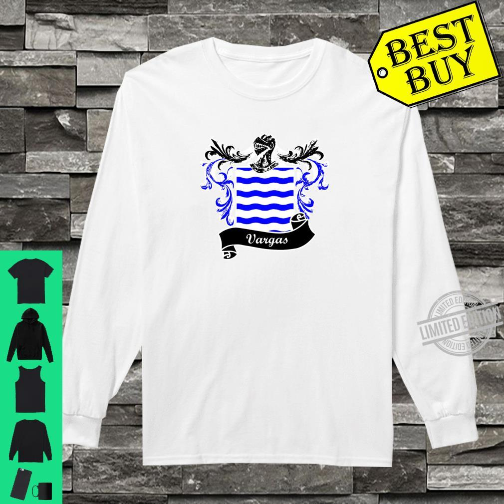 Vargas Coat of Arms surname last name family crest Shirt long sleeved