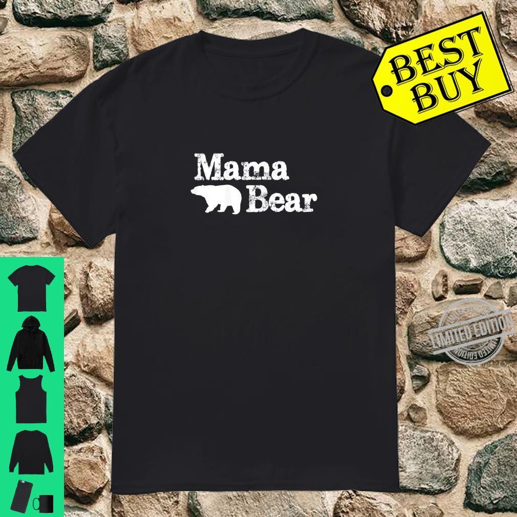 Womens Mama Bear for Mamma Bear & Momma Bear Shirt