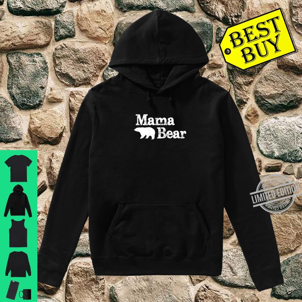 Womens Mama Bear for Mamma Bear & Momma Bear Shirt hoodie