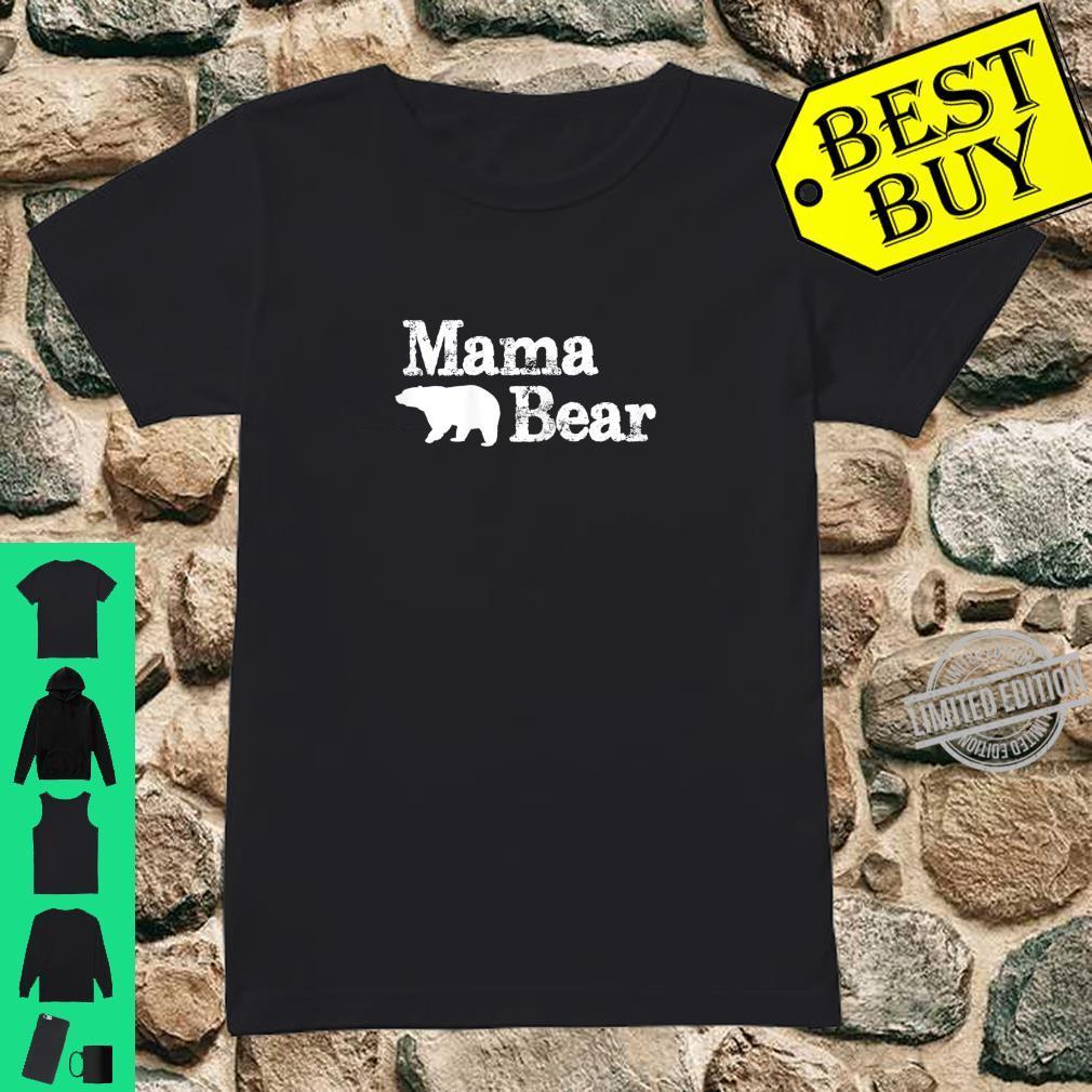 Womens Mama Bear for Mamma Bear & Momma Bear Shirt ladies tee