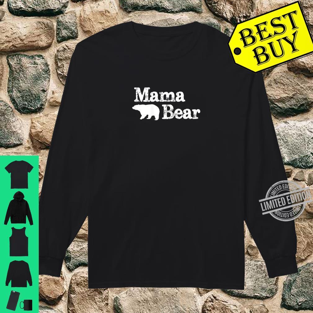 Womens Mama Bear for Mamma Bear & Momma Bear Shirt long sleeved